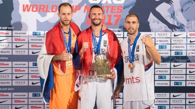 Mistrzostwa świata w koszykówce 3x3 World Cup 2017 Mistrzowie