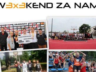 Koszykówka 3x3, stretball - weekendowe turnieje