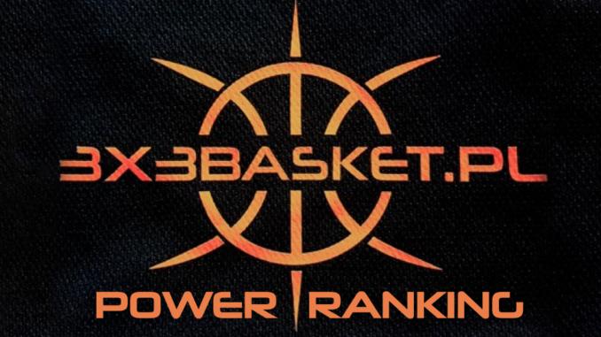 Power ranking 3x3basket.pl